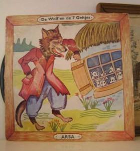 Singeltje - de wolf en de zeven geitjes