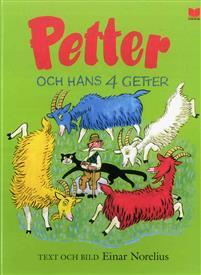 Petter och hans 4 getter Boek omslag